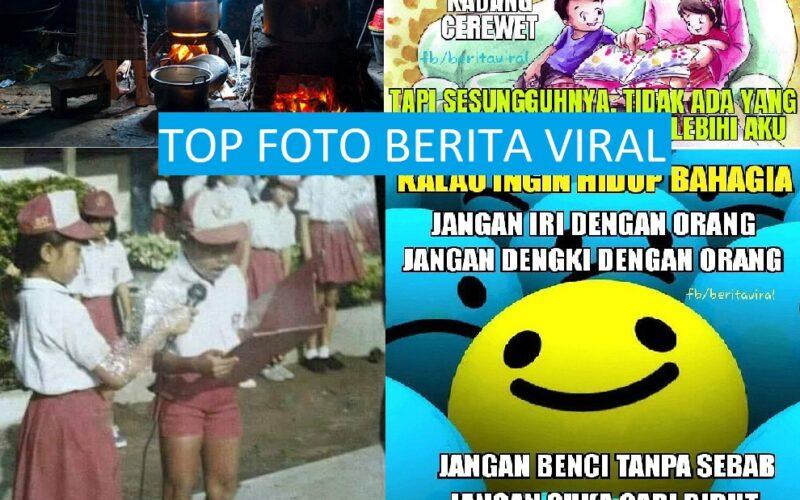 Foto – Foto Terbaik dengan Like dan Share Terbanyak di Fan Page Berita Viral