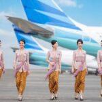 Senyumnya Tak Terlihat saat Kenakan Masker, Pramugari Garuda Indonesia Tak Akan Pakai Masker Saat Bertugas