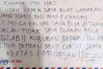 Viral, Pelamar Kerja Mendoakan HRD Kena Azab Kalau Surat Lamarannya Ditolak